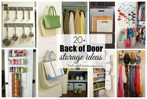 back of closet door storage 20 back of door storage ideas