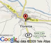 florence colorado map 8 motel florence canon city area co florence deals