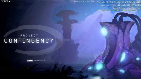 fan made halo game project contingency network test build official main menu