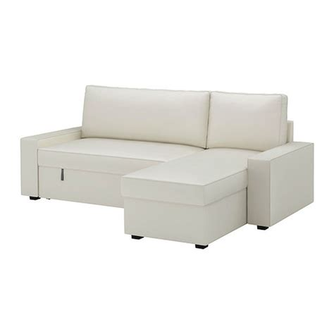 Slipcover Sofa With Chaise ikea vilasund sofa bed with chaise slipcover sofabed cover vittaryd light beige