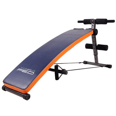 ab sit  bench folding home abdominal crunch workout