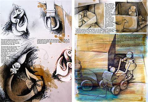 artist book layout 23 creative sketchbook exles to inspire high school