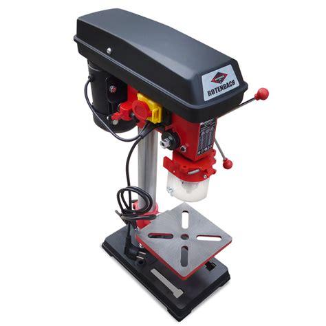 bench drill machine rotenbach 500w b16 max 50mm pillar drill press bench