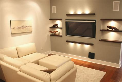 Ideas To Design Your Room by Small Tv Room Ideas With Lighting Design Decolover Net