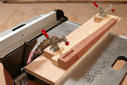 table  taper jig tapered legs woodworking
