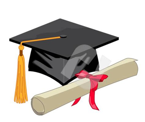 education and training clipart clipart mortarboard and diploma vector clip art 00277