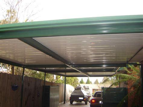 woodwork attached flat roof carport plans  plans