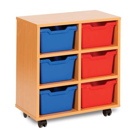 6 Cubby Shelf by 6 Cubby Tray Storage Unit Meq8006 Buy At Primary Ict For