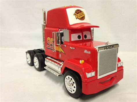 disney pixar diecast with plastic cars 1 24 scale mack truck made by toys 615028983565 ebay
