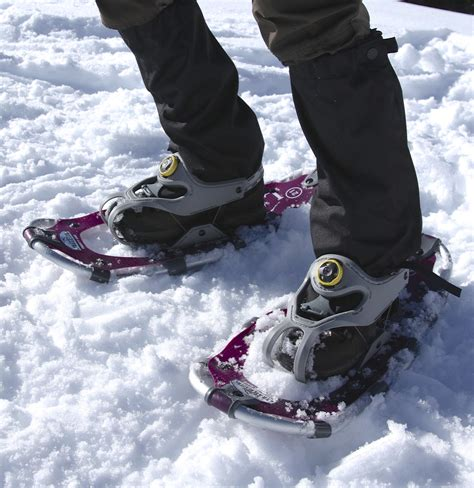snow shoes l l bean s trailblazer snowshoes with boa bindings
