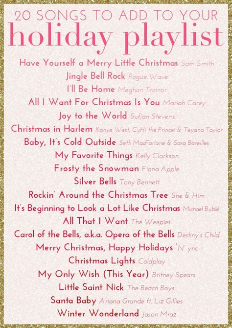 25 best ideas about christmas music playlist on pinterest