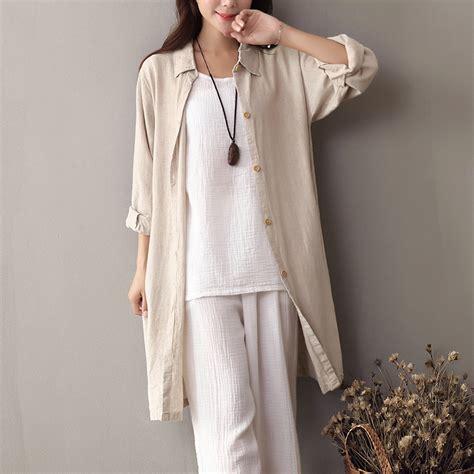 down blouses for 2013 video star travel international down blouses for beige turn down collar long sleeve shirt women linen long