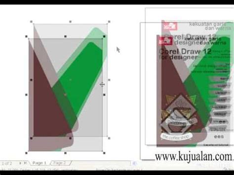 design cover buku corel membuat desain cover corel draw youtube