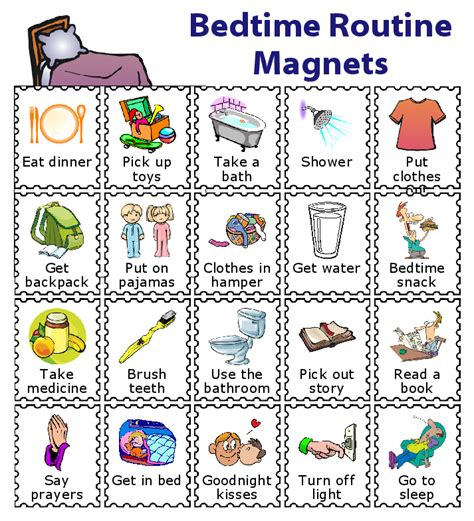 How To Pick Bed Sheets by Make A Magnetic Checklist For Your Kids