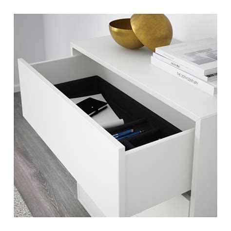 ikea under cabinet storage eket cabinet with 3 drawers white 70x35x70 cm ikea