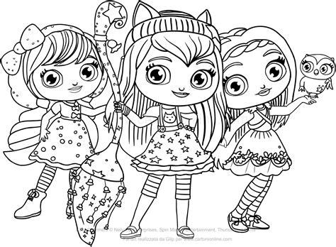 little charmers coloring pages games little charmers coloring pages online coloring page cartoon