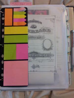 Wedding Organizer Notebook by 25 Best Ideas About Wedding Planning Notebook On