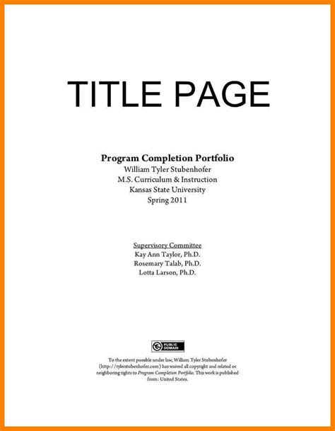 resume front page template portfolio cover page exle 4 portfolio cover page exle