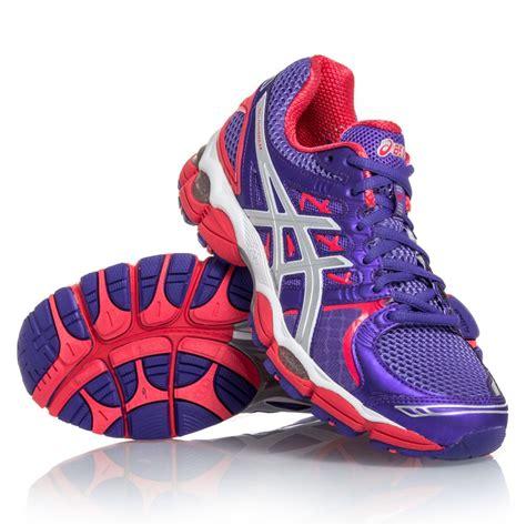 asics gel nimbus 14 running shoe asics gel nimbus 14 womens running shoes purple