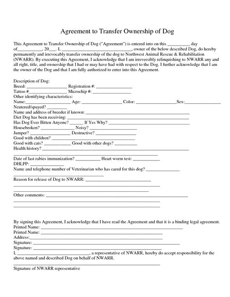 transfer agreement template free 10 best images of real estate transfer agreement real