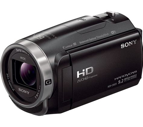 sony hd buy sony hdr cx625 camcorder black free delivery currys