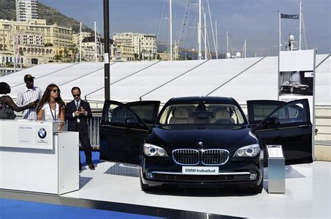bmw at the monaco yacht show 2011 setting the course for