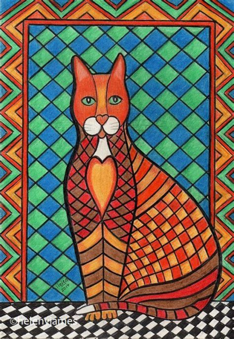 Blue Cats Patchwork - cats k o