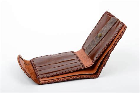 monederos de cuero para hombre madeheart gt billetera de cuero natural hecha a mano regalo