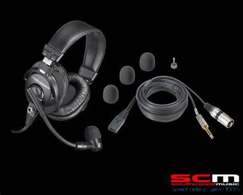 Headset Audio Technica audio technica bphs1p broadcast stereo headset microphone