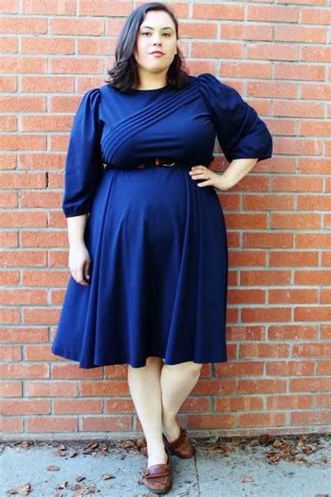 get the retro look in plus size vintage dresses