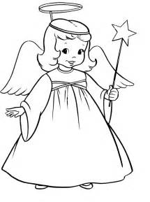 Angel Coloring Page Free Pages On Art sketch template