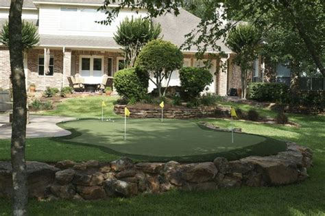 backyard golf create mini golf course in your backyard love this idea