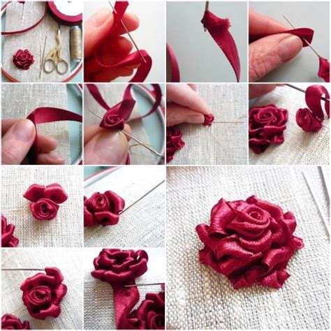 paper ribbon flower tutorial diy ribbon roses that look delicate and pretty