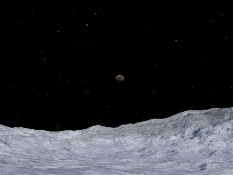The View From Pluto by What Would It Take To Send To Pluto Pluto Safari