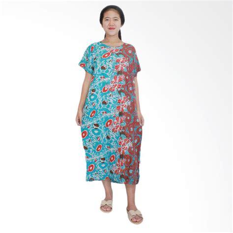 Daster Busui Dan Bumil jual batik alhadi dpt001 32a daster kancing lengan pendek