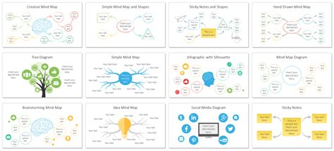 Mind Map Powerpoint Template Presentationdeck Com Mind Map Powerpoint Template