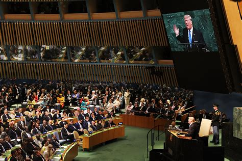 United Nations Nation 56 by President Donald Proves We Need The United Nations