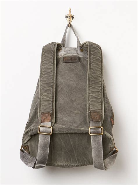 bed stu backpack bed stu missoula backpack in gray grey lyst