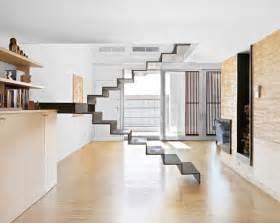 Elegant Kitchen Decor Minimalist Staircase 3 Unique Stair Designs In One House