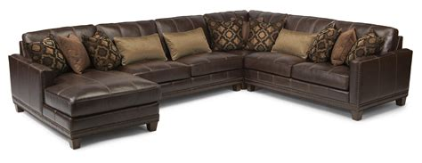 Flexsteel Sectional Sofa Flexsteel Latitudes Port Royal Transitional Four Sectional Sofa With Laf Chaise Olinde