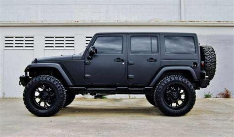 jeep pink matte jeep wrangler 4 door matte black 4door jeep wrangler