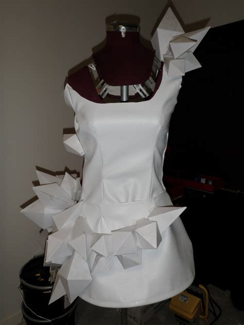 Origami Dresses - gaga origami dress sewing projects burdastyle