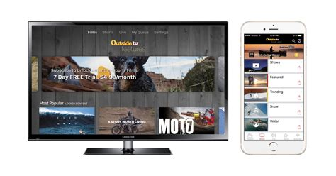Tv Mobil Splash Outside Tv Features Makes A Splash Across Ott And Mobile On Tvx Powered By Maz
