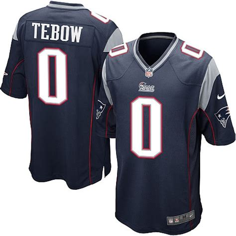New Gamis Two Tone 2 nike new patriots 5 tim tebow blue white two tone