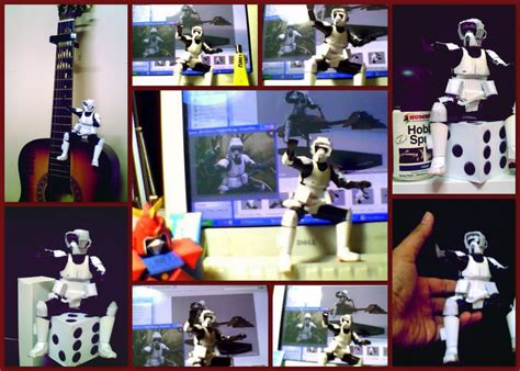 Voltes V Papercraft - wars scoutrooper papercraft voltes v by edontuazon on