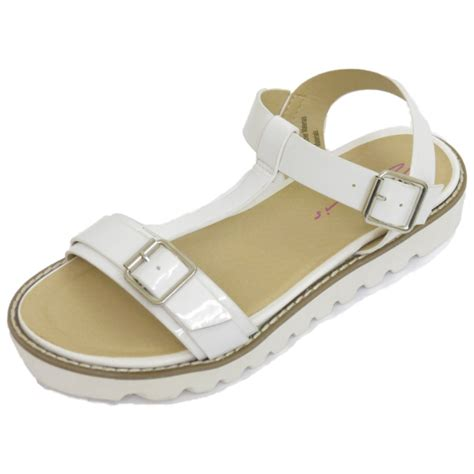 flat buckle sandals white dolcis flat buckle sandals flip flop t bar