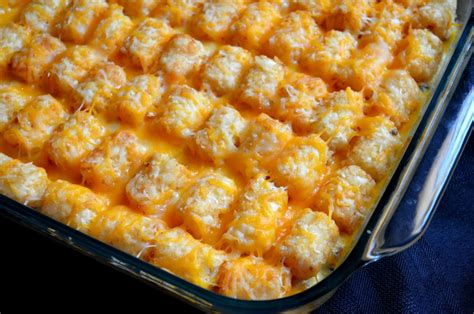 for the love of dessert tater tot casserole