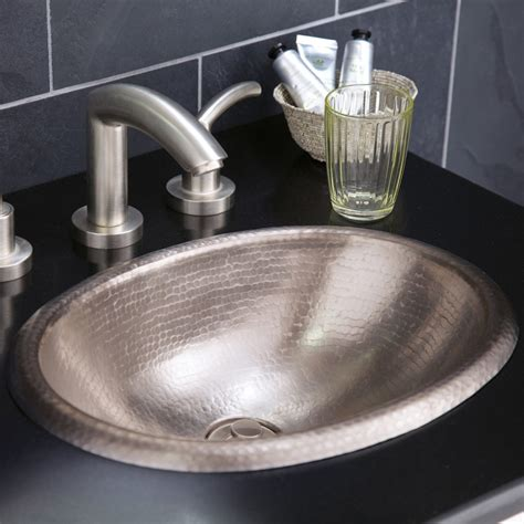 bathroom sink copper rolled baby classic copper bathroom sink native trails