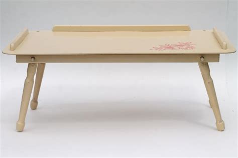 best lap desk for coloring vintage wood folding tray for bed or easel top lap