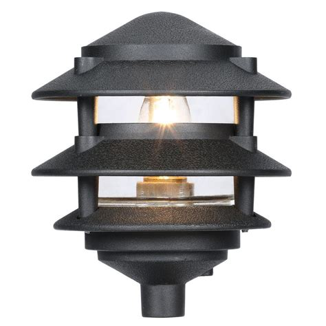 home depot landscaping lights progress lighting black landscape pathlight p5204 31 the